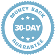 100% 30-day Money Back Guarantee