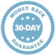 100% 30-day Money Back Guarantee